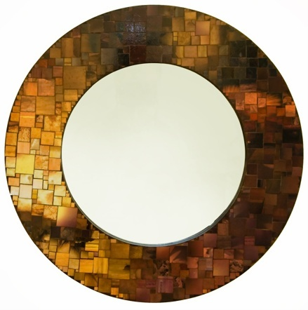 Espejo Mosaico de Papel vía Nato Diseño