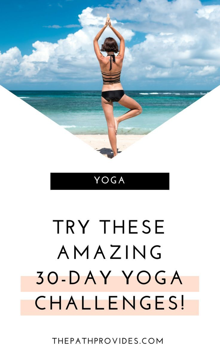 Best 30-Day Yoga Challenges to Rock your Practice | Yoga