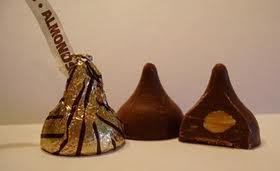 Kisses Chocolate Almond my fav