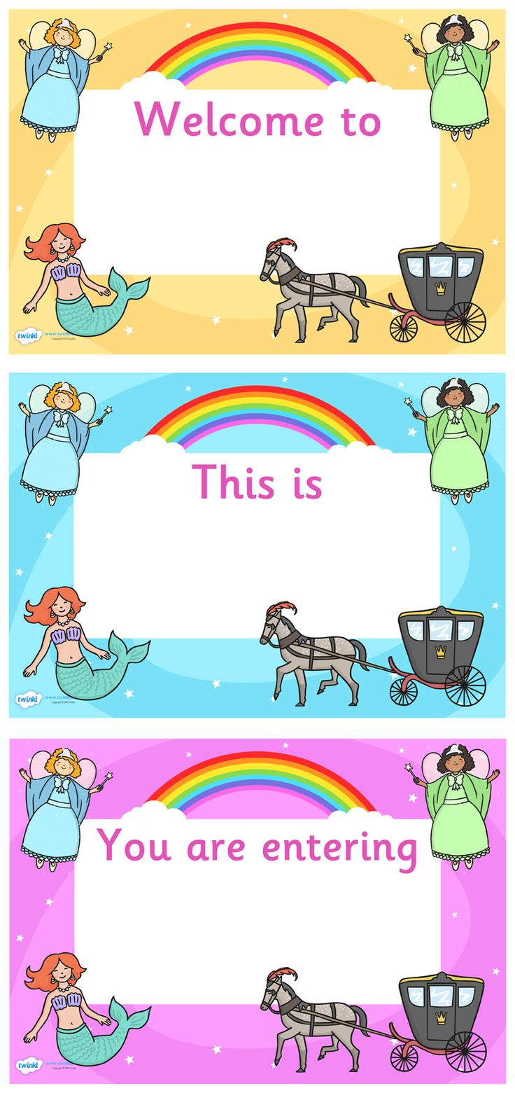Kindergarten classroom decoration printables - Twinkl Resources Fantasy Themed Editable Class Welcome Signs Classroom Printables For Pre School Kindergarten Elementary School And Beyond