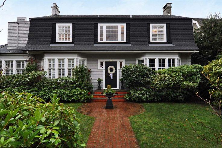 The 25 best mansard roof ideas on pinterest red brick for Mansard roof house plans