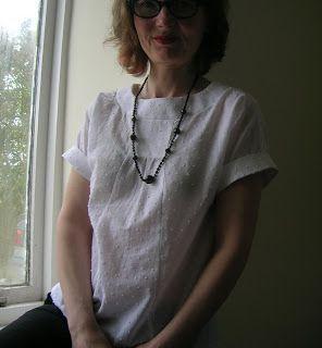 Roobeedoo: FO: Lisette Portfolio Blouse, Simplicity 2245
