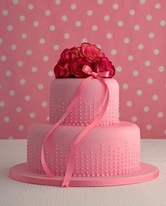 lovely pink cake  Maisefantasie