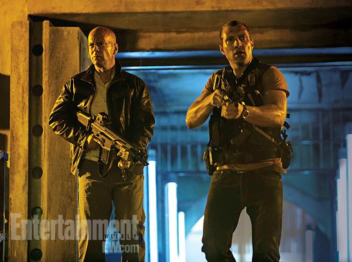 First official photo from the fifth Die Hard film
