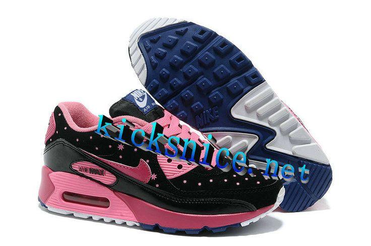$56.5 #Nike #Air #Max 90 LE DB Doernbecher Black Fireberry Digital Pink Womens