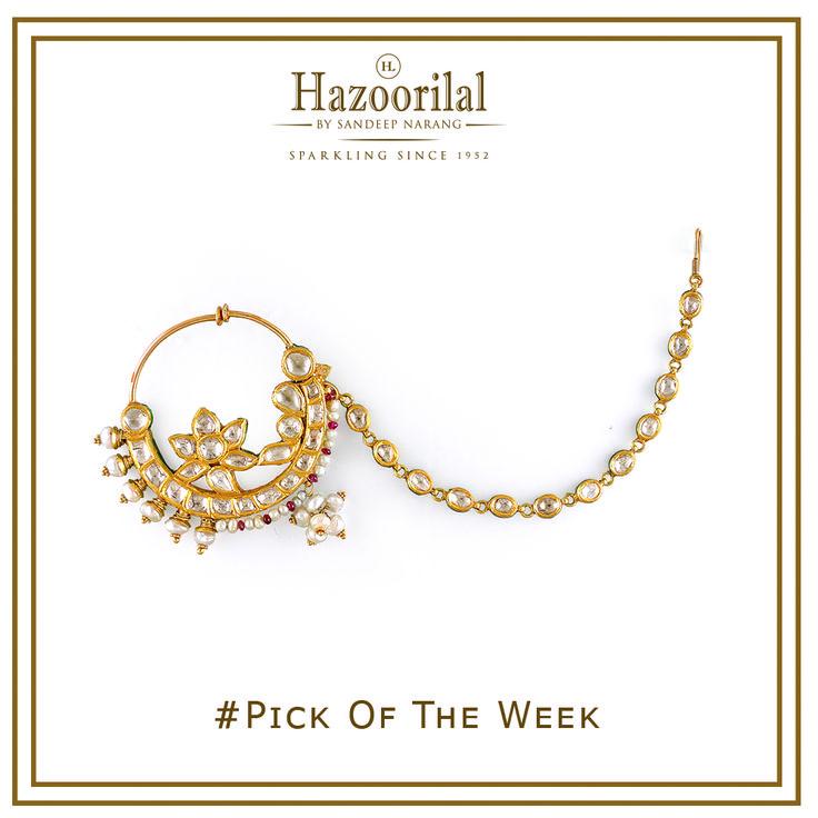 For the demure bride .  #hazoorilalbysandeepnarang #hazoorilal #polkinath #indianjewellery #bridaljewellery #polki #bridallooks2016 #hazoorilalbride #hazoorilaljewellersgk #itcmaurya #dlfemporio