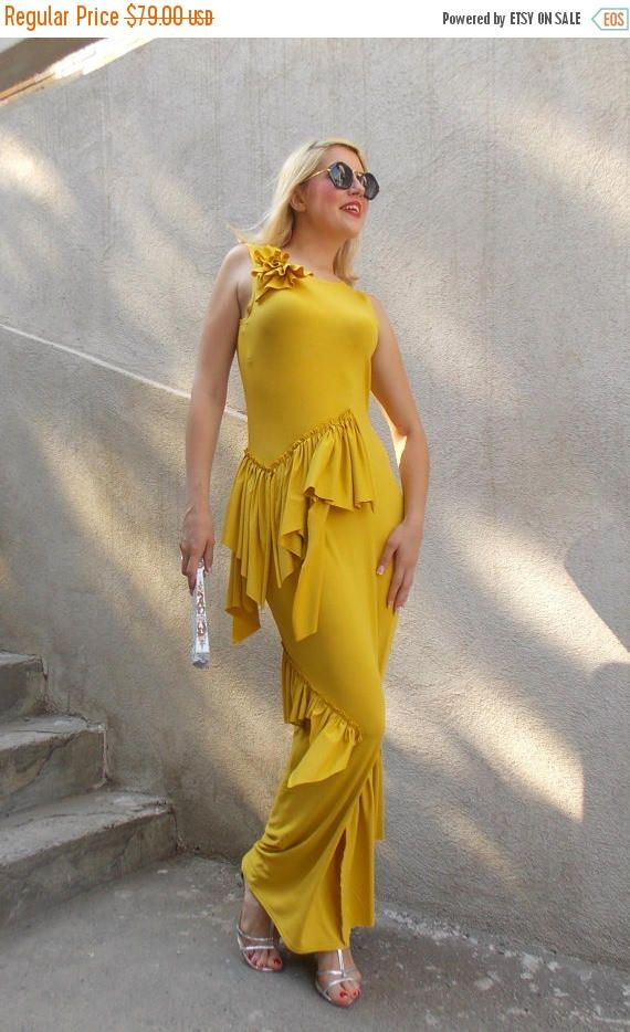 Just in: SUN SALE 25% OFF Mustard Kaftan / Long Summer Kaftan / Elegant Kaftan with Flounces Tdk136 https://www.etsy.com/listing/239789628/sun-sale-25-off-mustard-kaftan-long?utm_campaign=crowdfire&utm_content=crowdfire&utm_medium=social&utm_source=pinterest