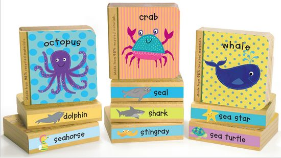 'Little Ocean Books' I illustrated for innovative Kids