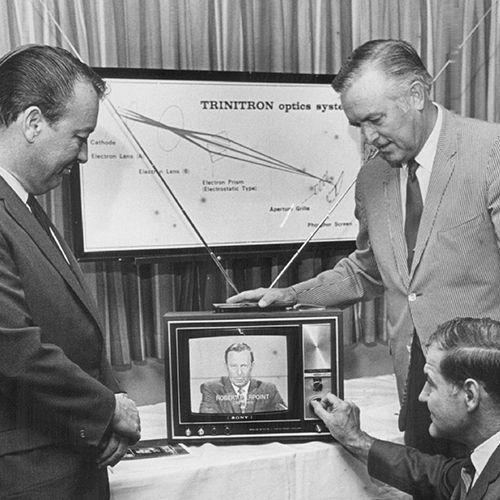1968: Sony Trinitron TV