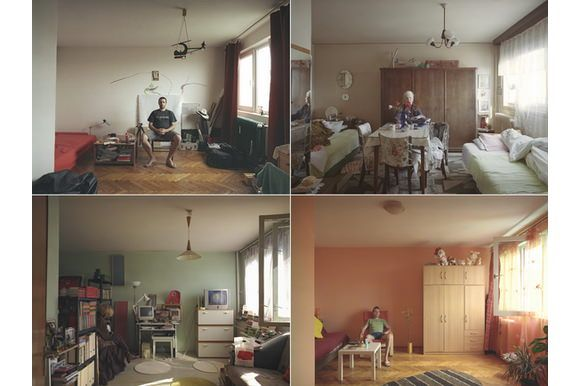 A different approach to photography, one with a clear goal set in the mind of the artist: portraying the mix of social glasses living in the same apartment building in identical single-room flats. A great project by Bogdan Gîrbovan. #art #social #portrait #photography