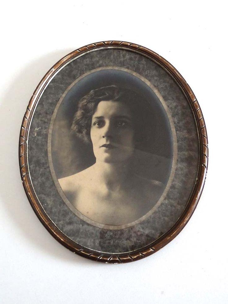 Les 25 meilleures id es concernant cadre ovale sur - Peindre un miroir dore ...