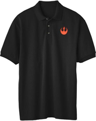 Star Wars Rebel Logo Embroidered Polo Shirt
