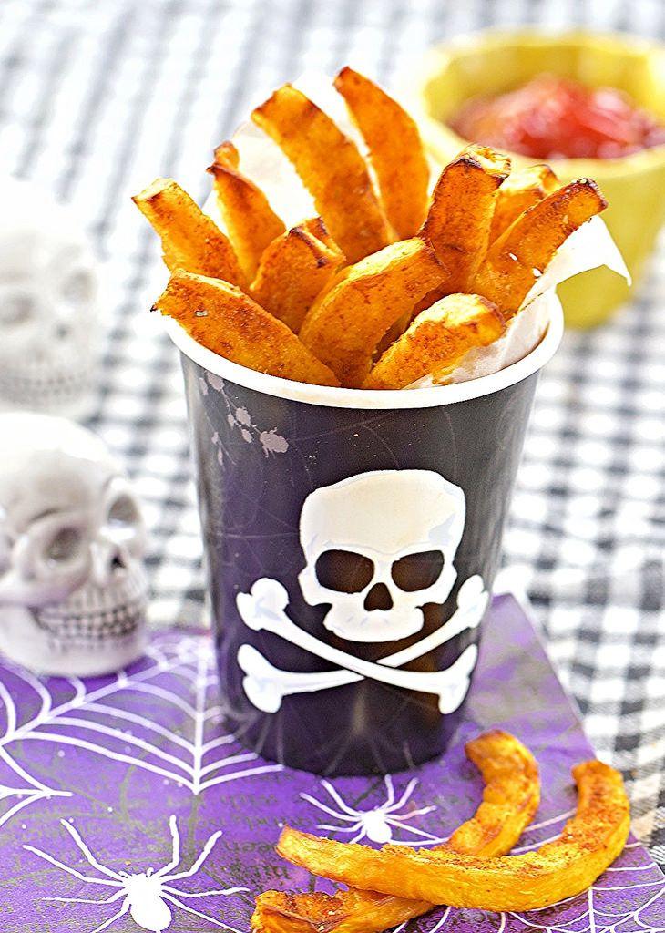 smoked paprika pumpkin fries ++ my apron strings