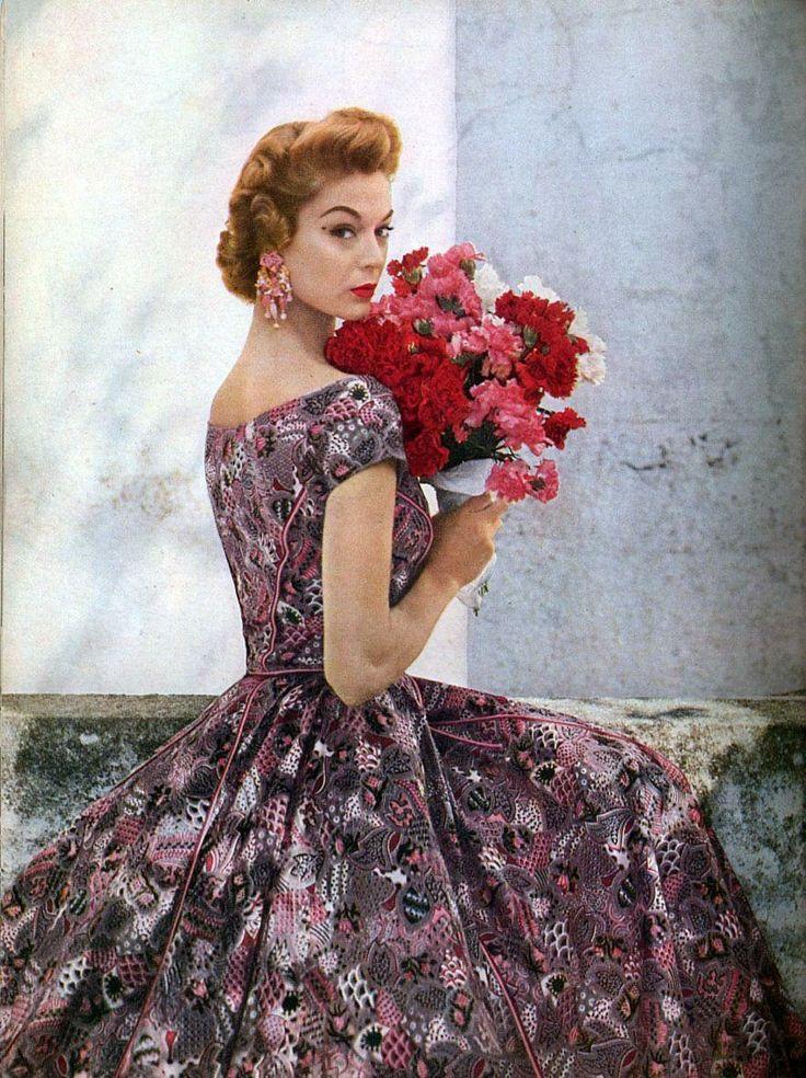 1950's Fashion model Jean Patchett