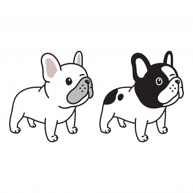 Dog French Bulldog Character Cartoon Doo Premium Vector Freepik Vector French Bulldog Drawing French Bulldog Wallpaper French Bulldog Art