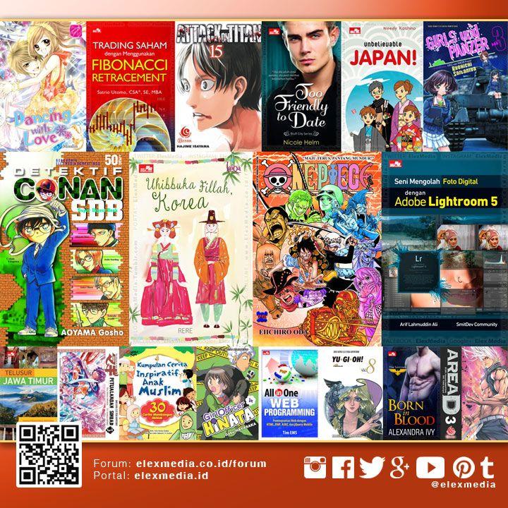 JADWAL TERBIT MINGGU INI: http://j.mp/LX160302  Ingin dapat informasi jadwal terbit Elex Media dan sneakpeek komik terbaru? Mari bergabung ke Forum ELEX ONLINE, di sana jadwal di-update setiap minggu: http://bit.ly/LXORegs  Image: Highlight beberapa judul minggu ini, untuk daftar lengkap cek tautan jadwal di atas  #ElexMedia #gramedia #buku #komik #novel #fiksi #nonfiksi