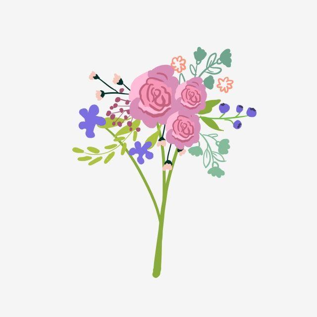 باقة الورد ارتفع اليد رسمت روز زهرة التوضيح مرسومة باليد أعطى ارتفع اليد رسمت Png وملف Psd للتحميل مجانا Rose Illustration Flower Illustration Roses Drawing
