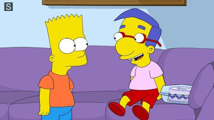 1000 images about simpsons milhouse on pinterest - Marge simpson et bart ...