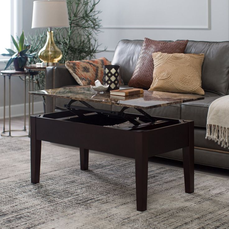Marque Genuine Marble Top Coffee Table: Top 25+ Best Lift Top Coffee Table Ideas On Pinterest