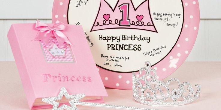 Alt. Image (3) - Birthday Princess 1st Birthday Party in a Box
