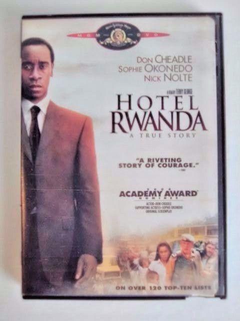 Hotel Rwanda DVD Don Cheadle Sophie Okonedo Joaquin Phoenix PG 13