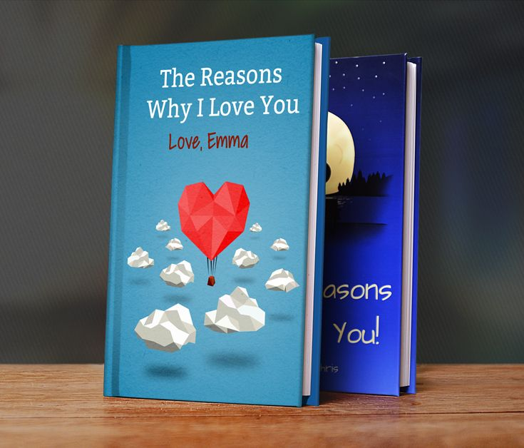 LoveBook® is the most Unique Personalized Gifts you could ever give. Use our LoveBook® Creator to build your book of reasons why you love someone!