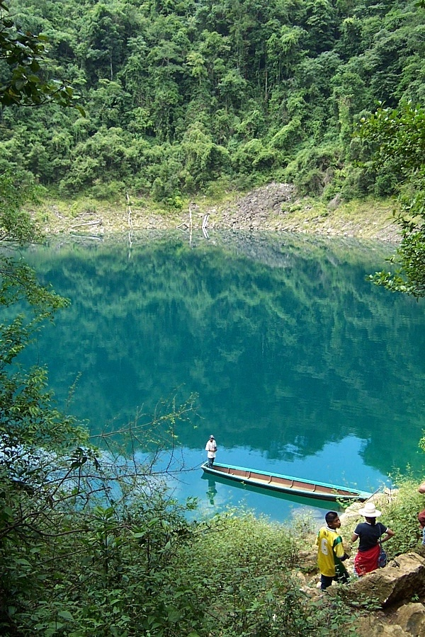 Lagunas de Sepalau, Alta Verapaz.