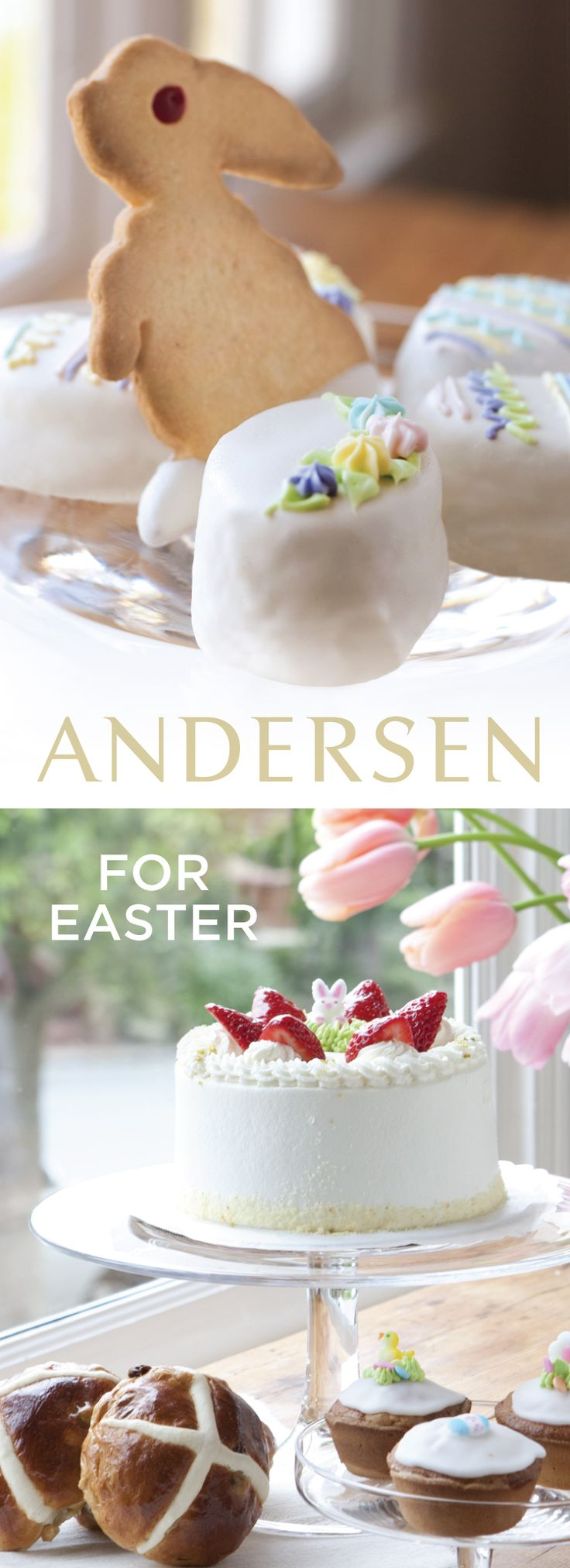 Hot cross buns, beautifully decorated custom cakes, adorable Easter-themed egg cakes and cookies...no matter how you observe Easter, you'll find just the right touch to add to your celebration.