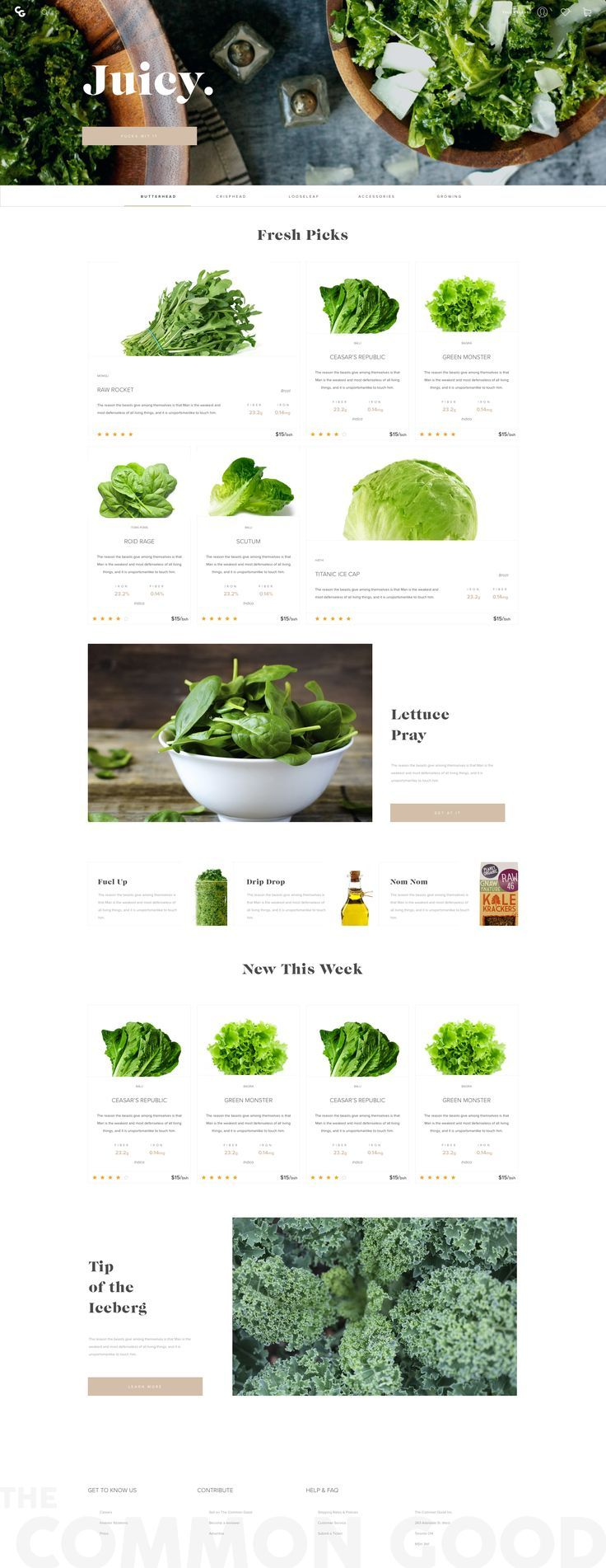 Dribbble - lettuce_home.png by FutureFuture. If you like UX, design, or design thinking, check out theuxblog.com