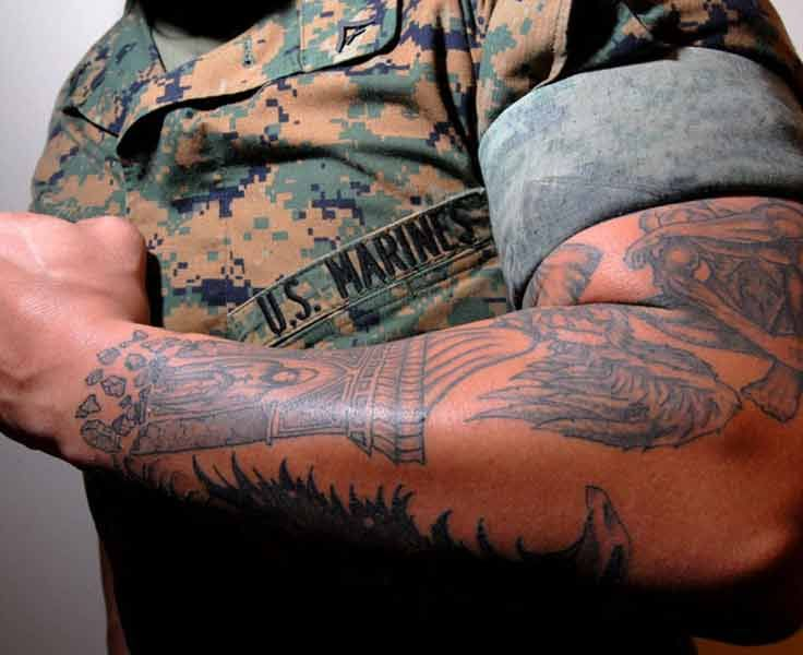 39 best images about tattoo meanings on pinterest for Army tattoos and meanings