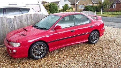 This subaru impreza turbo uk 2000 classic  is for sale.