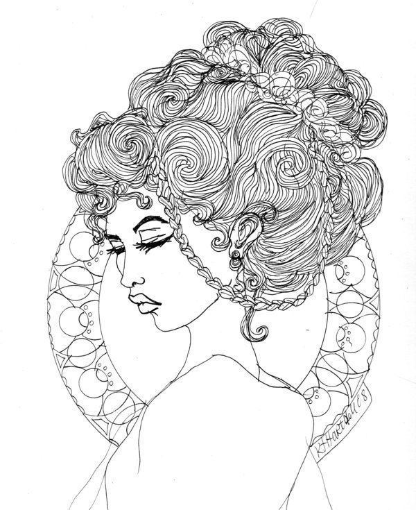 191 best Art Nouveau Coloring Pages images on Pinterest ...