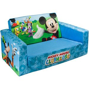 Marshmallow 2-in-1 Flip Open Sofa, Disney Mickey Mouse $35 (way cheaper than Toys R Us)