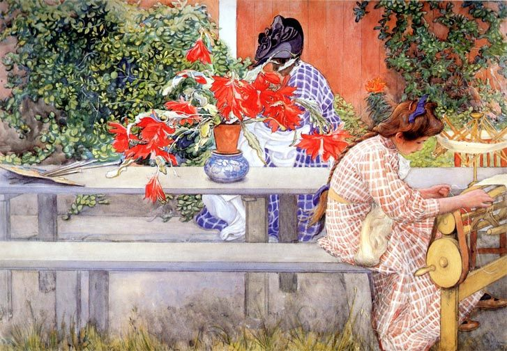 Simple Virtues: Featured Artist: Carl Larsson