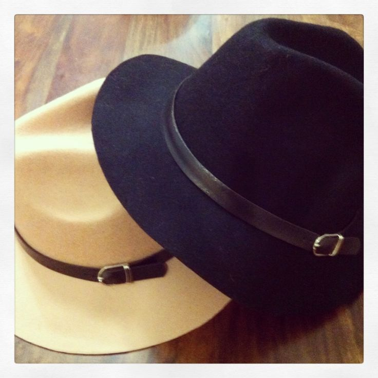 Felt hats @bubblesandbuttonsboutique