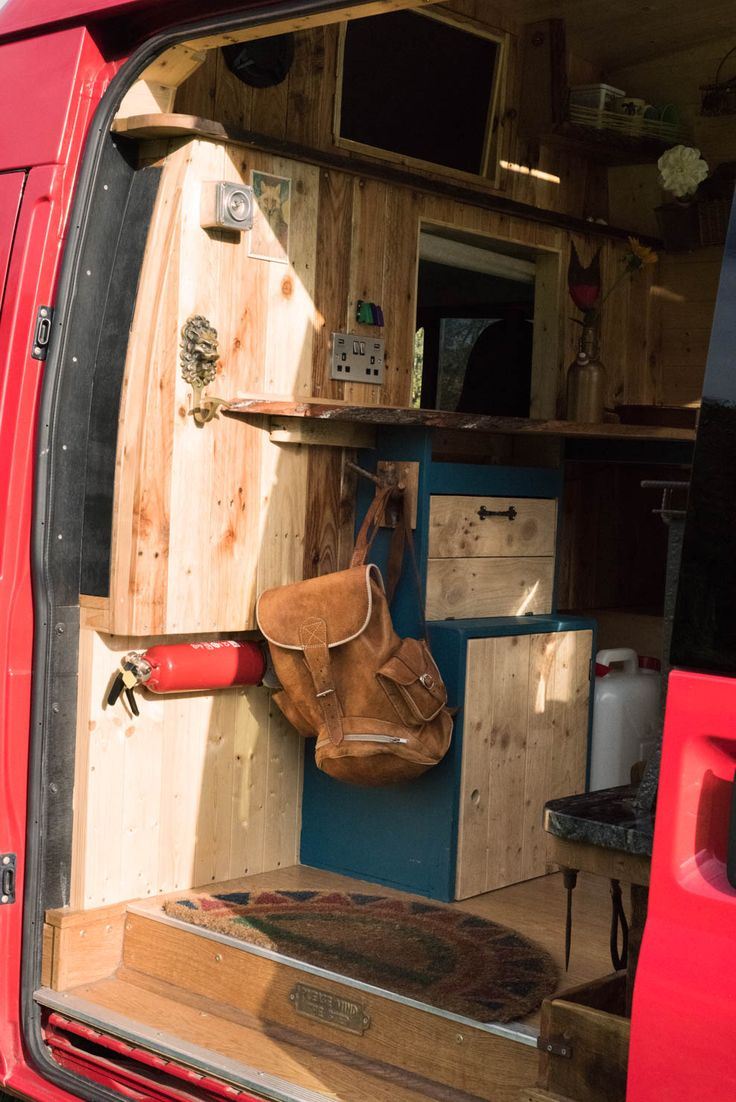 Amelia redefines what can be achieved in a campervan conversion offering a unique experience that