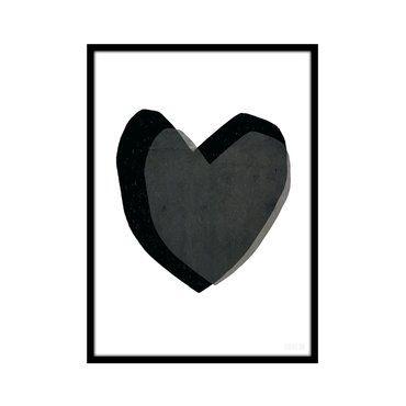 Farbe: Schwarz/Weiß Größe: B30xH40cm Lieferung erfogt ohne Rahmen Hergestellt in England