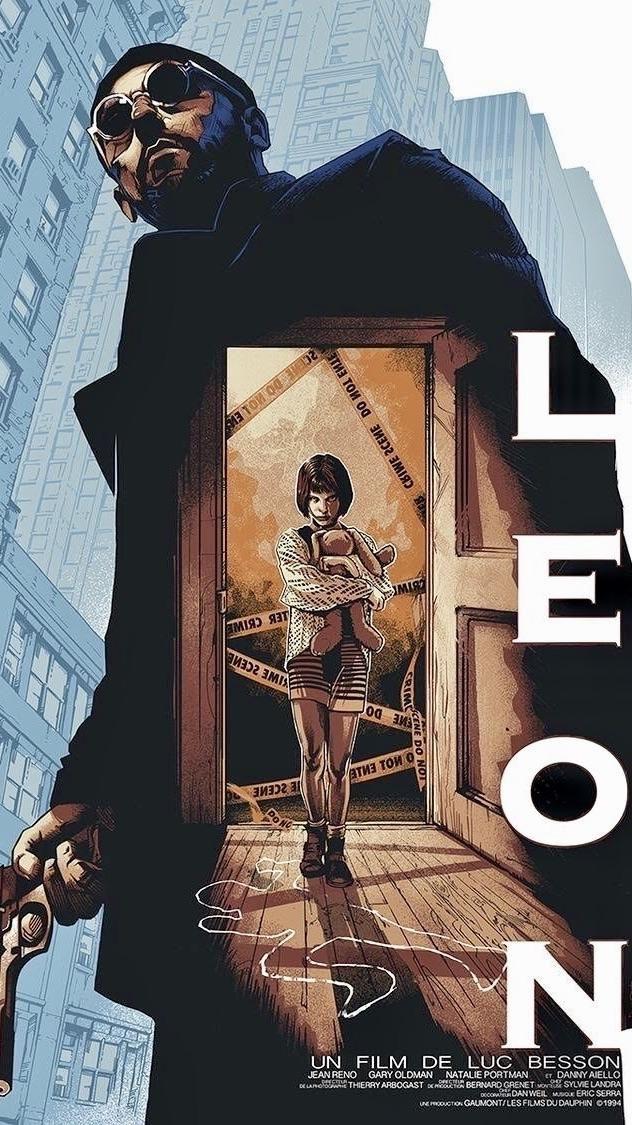 Leon The Professional Alternative Movie Posters Movie