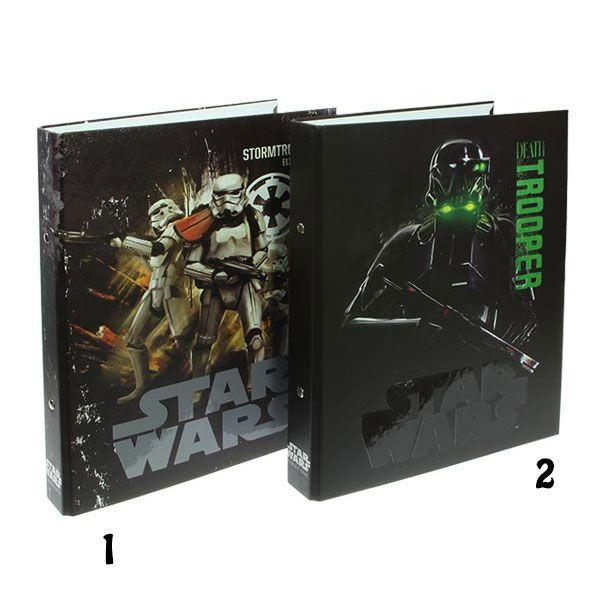 Star Wars Κλασέρ σχολικό 17x25cm δύο κρίκων