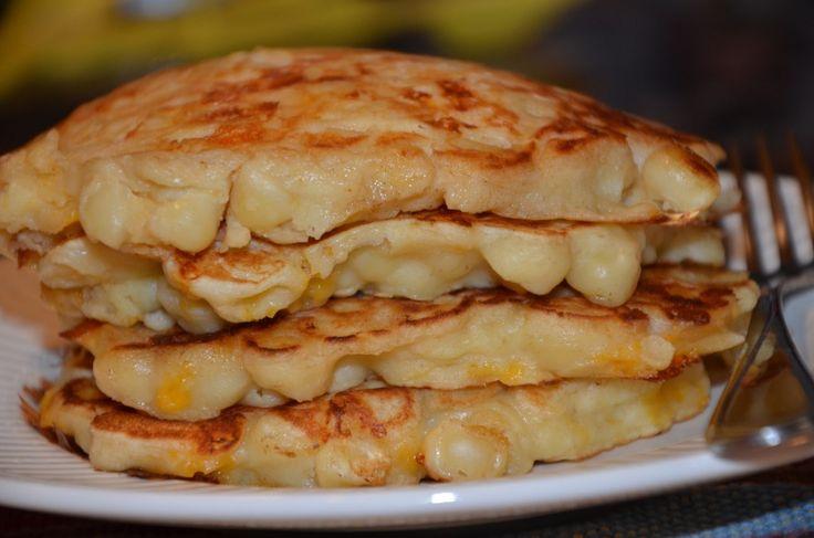 intrigued. mac n cheese pancakes...Mac Cheese, Macaroni And Cheese, Pancakes Recipe, Mac N Cheese, Cheese Pancakes, Mac And Chees Pancakes, Food Blog, Macaroni Cheese, Dinner Meals