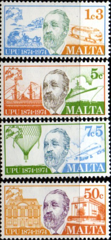 Malta 1974 UPU Set Fine Mint SG 527 30 Scott 484 7 Condition Fine Used Only one post charge applied on multipule purchases Details N B With over 100