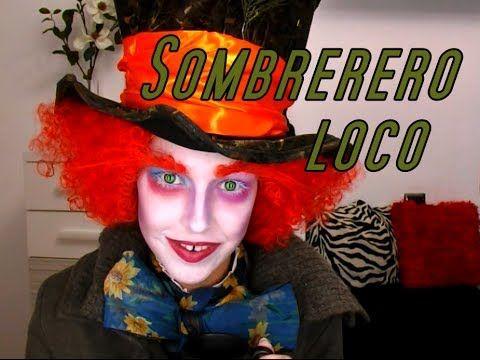 Tutorial maquillaje sombrerero loco. Mad hatter makeup tutorial.
