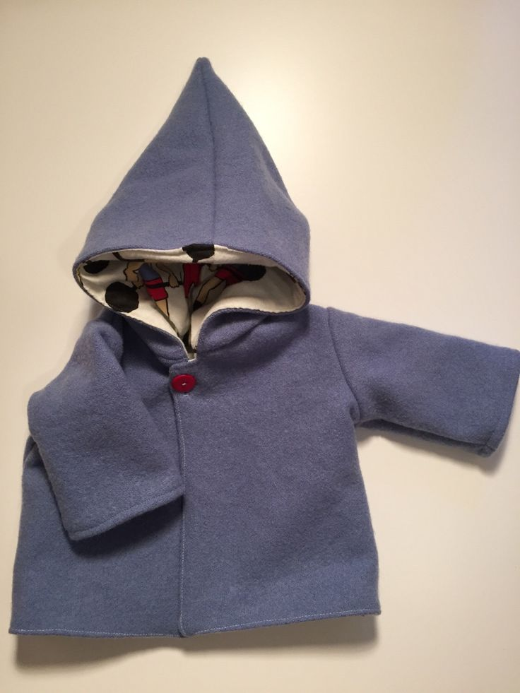 Hooded wool coat 9-18 mth by ookeyoriginals on Etsy https://www.etsy.com/listing/278799188/hooded-wool-coat-9-18-mth