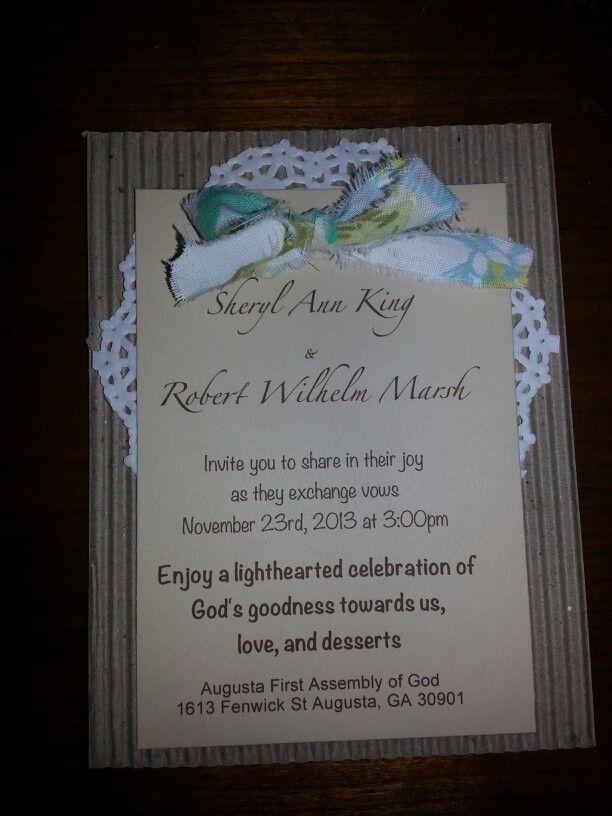 Wedding invitation handmade 36 best Wedding Invites