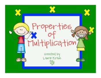 Are you teaching the properties of multiplication to your students? These posters and activity sheets will help teach these important math concepts to your students. This product includes: Identity Property of Multiplication poster Associative Property of Multiplication poster Commutative Property of Multiplication poster Distributive Property of Multiplication poster Factor definition poster Product definition poster Identity Property activity sheet (easy - one digit) Identity Property ...
