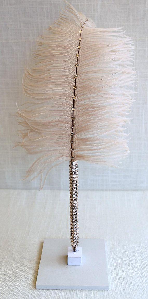 Champagne Elegance Swarovski Crystal Long Stem by PenTousPens