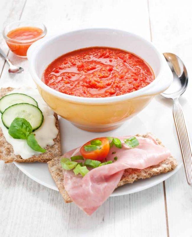 Geroosterde paprika-tomatensoep, NewFysic | Moeiteloos afslanken