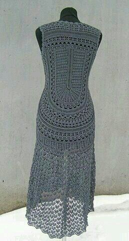 Back of a dress