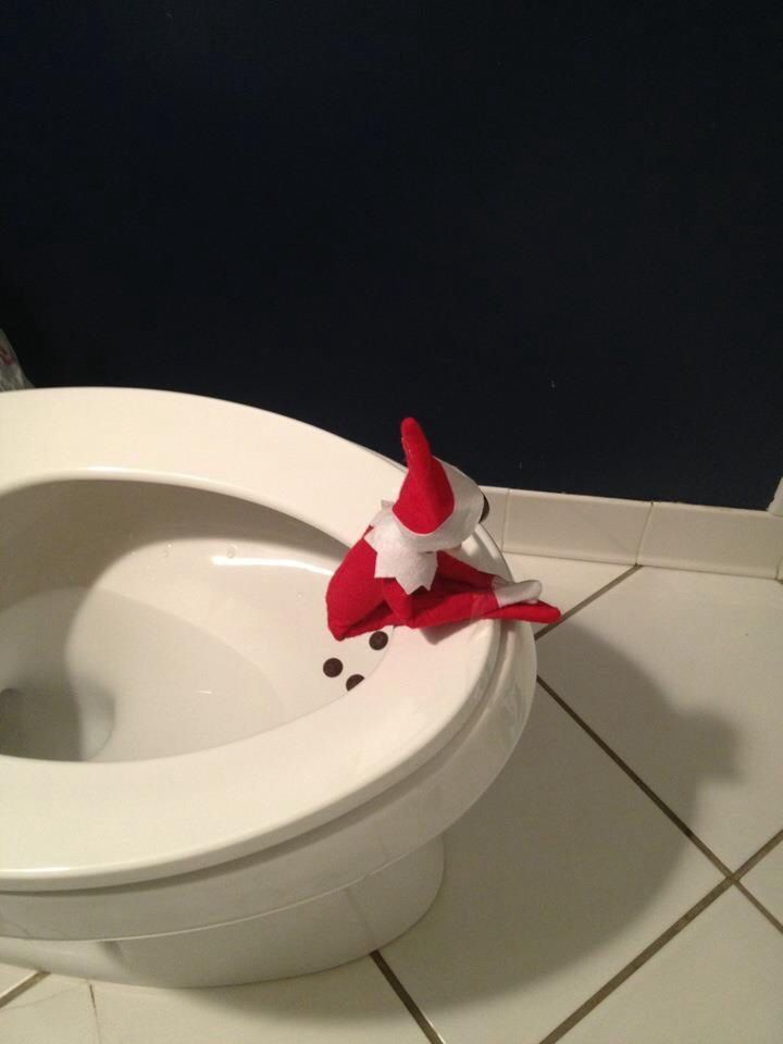 Elf on the Shelf idea - she would get a kick out of this =)