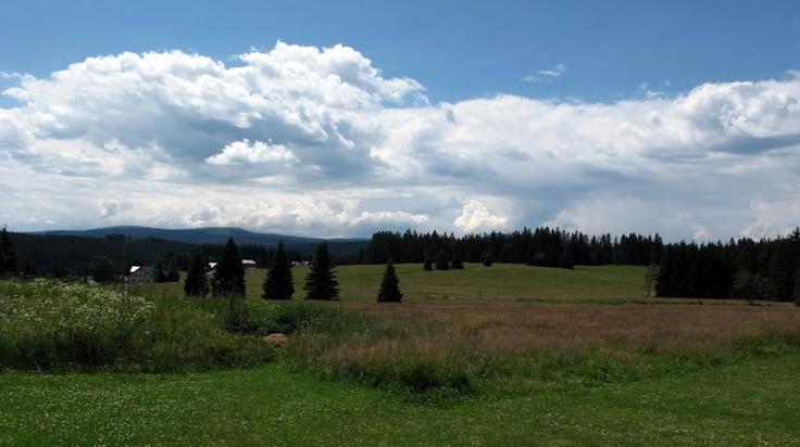 Nice view from Filipova Huť (Šumava mountain - CZE)